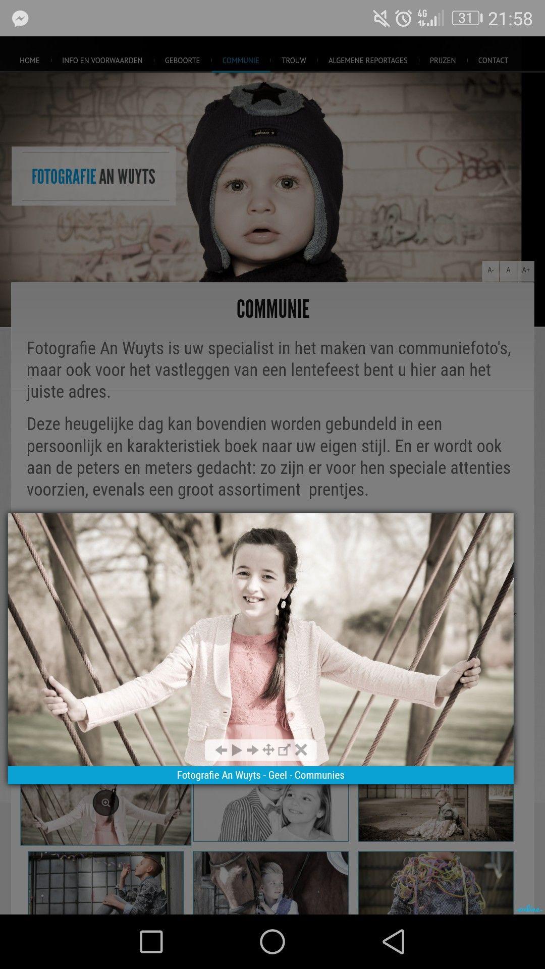 Pin van Petra Vandenbergh op kinderen, communie