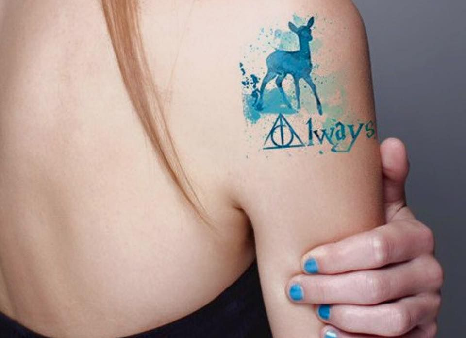 Henna Tattoo Zurich : Insanely crazy harry potter tattoos that are truly inspiring