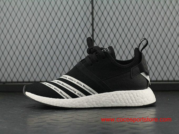 ffd88c3b0c443 White Mountaineering x adidas NMD R2 Primeknit BB2978 Black White Men s  Originals  100.00