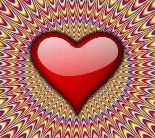 achtung optische t uschung herzen hearts c urs cuori corazones pinterest. Black Bedroom Furniture Sets. Home Design Ideas
