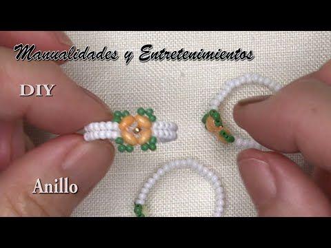 DIY -  Anillo Florecita💍💍💍