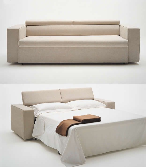 Attractive Comfortable Cheap Sofa Beds Design: Awesome Small Interior Home Modern  Minimalist White Cream Cheap Sofa Beds With Stylish And Elegant Decor.