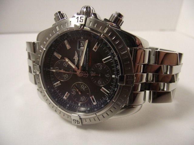 ブライトリング クロノマット レアなグラファイトダイヤル Breitling Chronomat Graphite dial