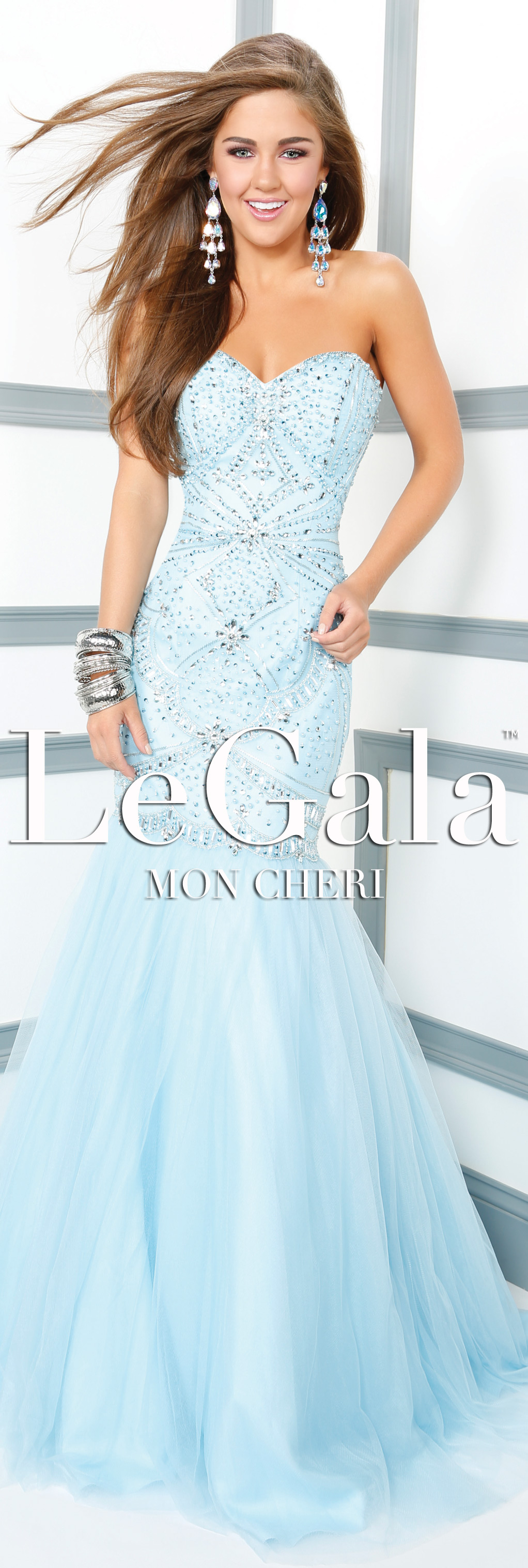 Spring prom dress by le gala by mon cheri style