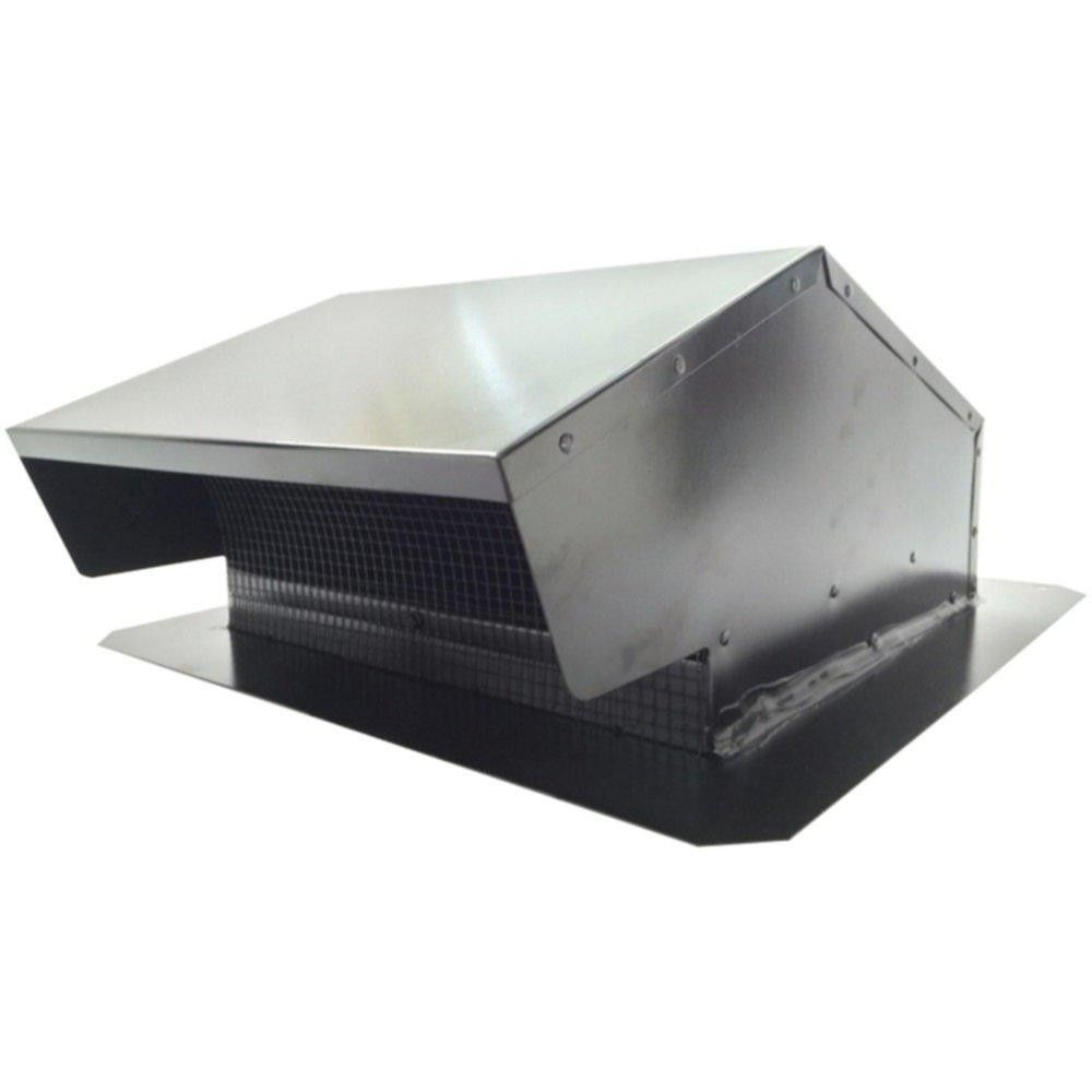 Builders Best 012634 Black Metal Roof Vent Cap 6 8 3 25 X 10 Universal Flush Metal Roof Vents Black Metal Roof Metal Roof