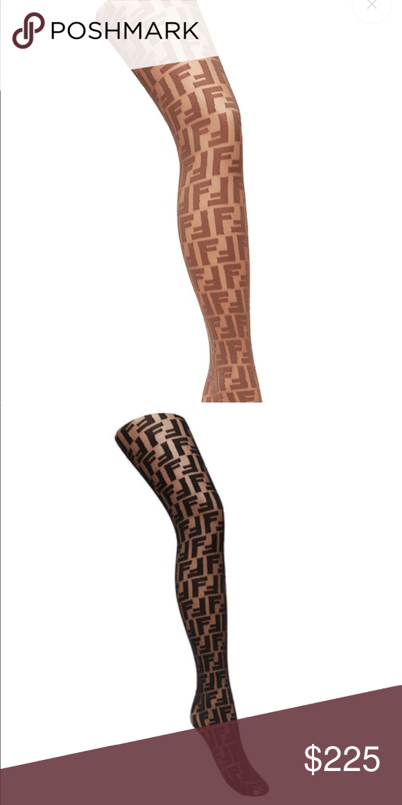 0025aecbde3 Fendi Tights Just like the socks but the stockings I only have three pair  in stock. They will be gone fast. Accessories Hosiery   Socks
