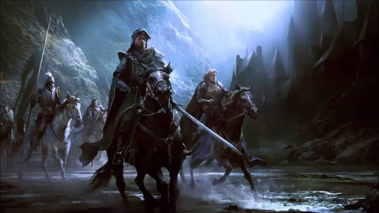 We Ride North Lord Of The Rings
