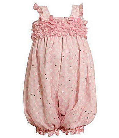 Bonnie Baby Newborn Small Ruffle Front Chiffon Party Pants Dillards