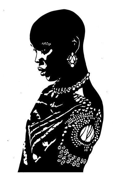 senegal woman 3 by Karen Y. Buster