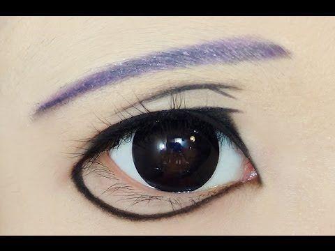 Tutorial : Anime Eye Makeup 68 • Crona