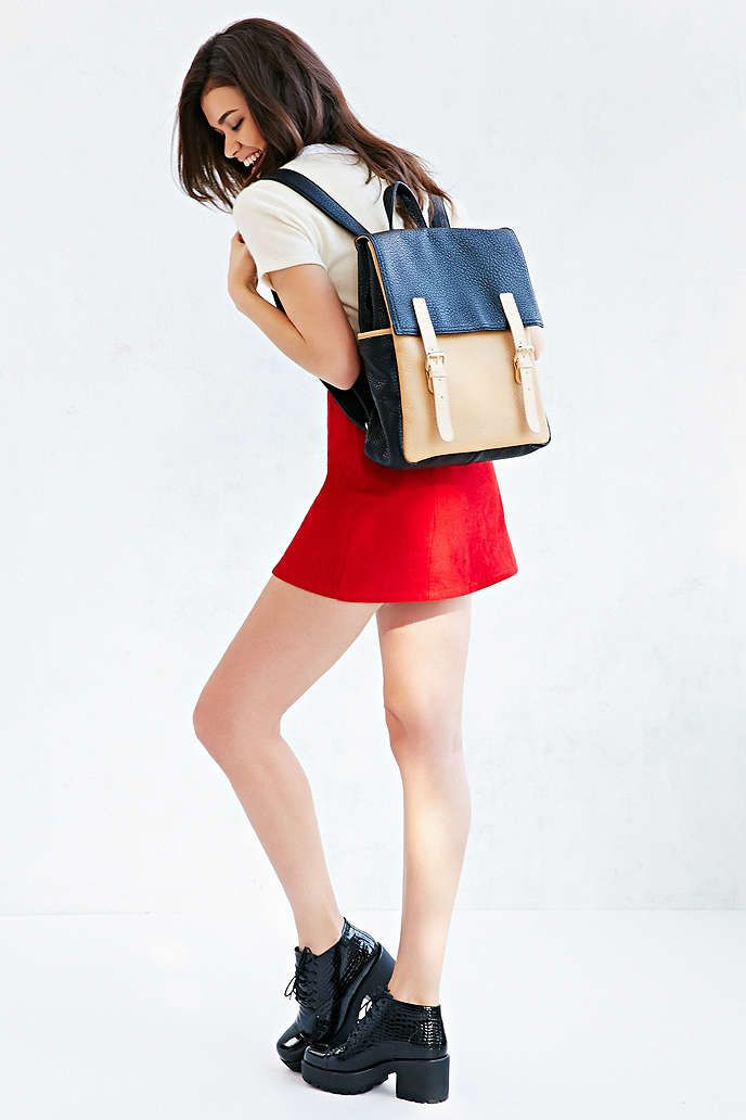 Cooperative Double Buckle Flap Backpack - Urban Outfitters