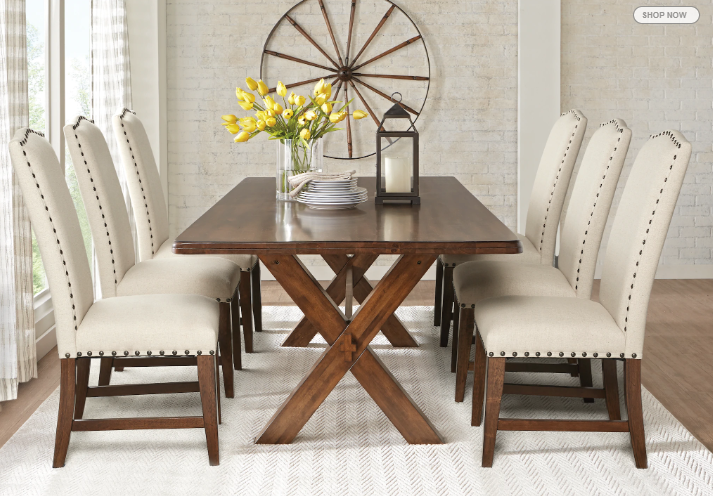 Inspiration From Rooms To Go Website Dining Room Table Set Dining Room Table Dining Room Table Chairs