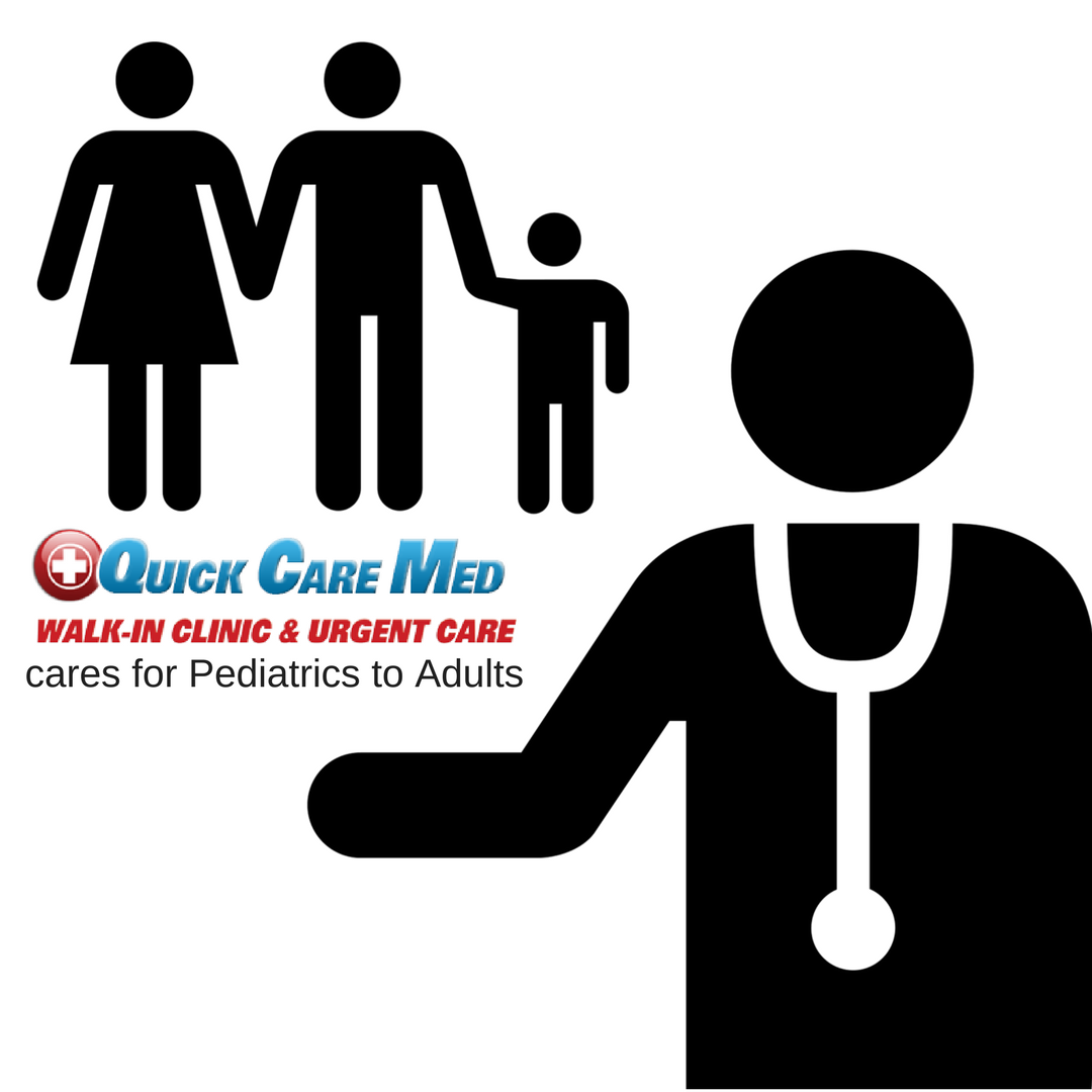 Quick Care Med cares for all ages from pediatrics to