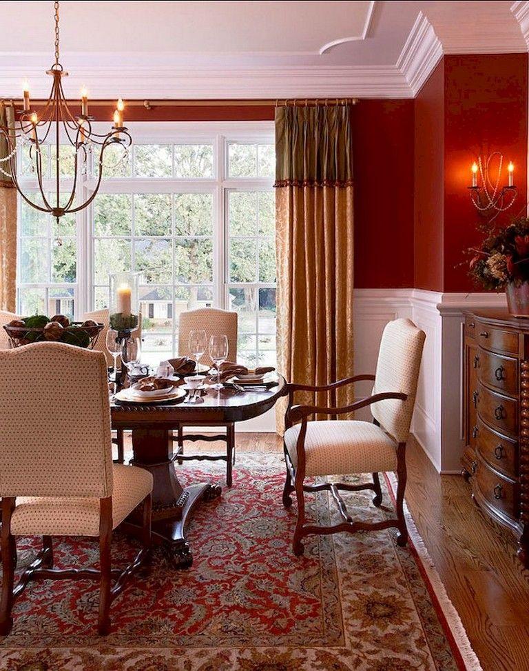 30+ Remarkable Farmhouse Dining Room Decor Ideas (With ... on Farmhouse Dining Room Curtain Ideas  id=50711