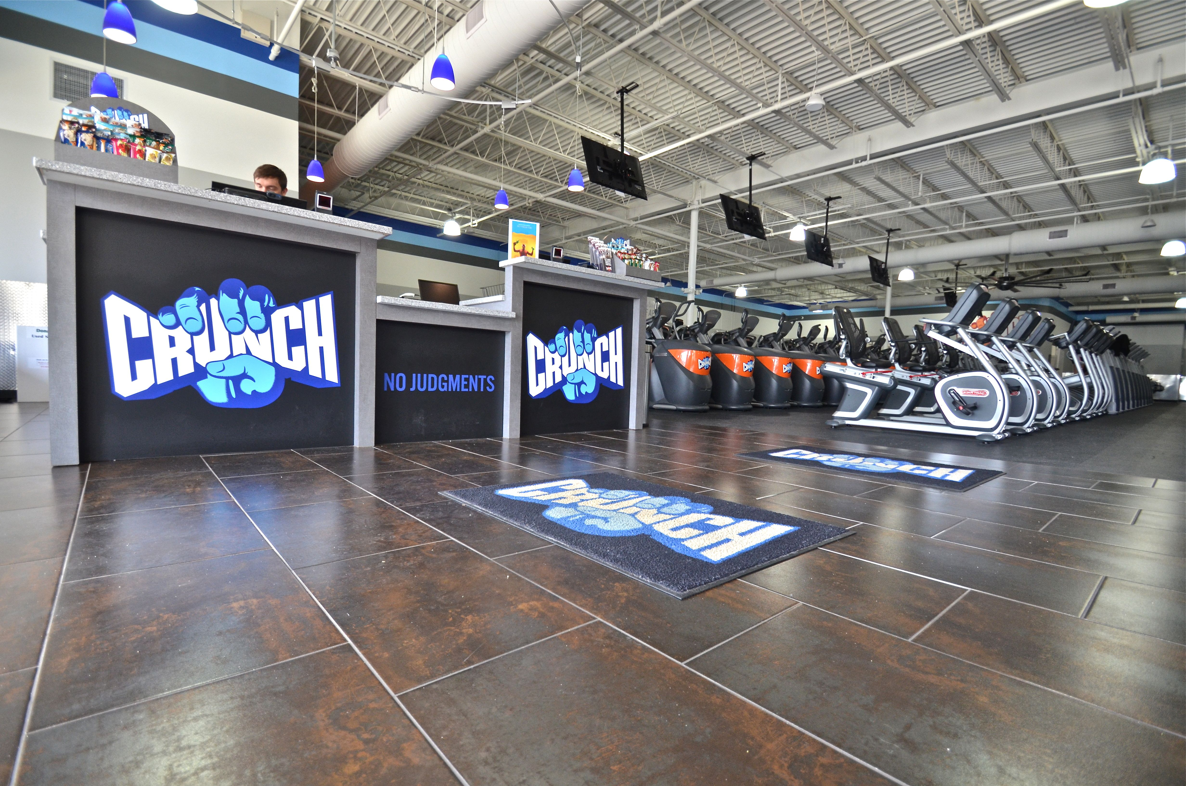 Custom Crunch Fitness Reception Area Reception Areas Fitness Toms River
