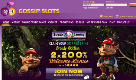 Exclusive 35 Free No Deposit Spins On Greedy Goblins Video Slot At