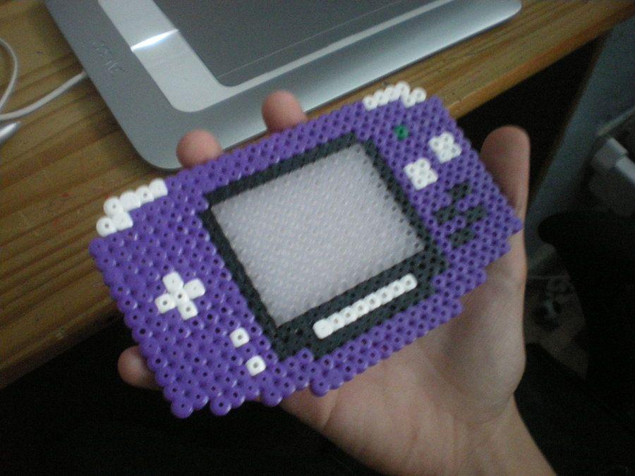 Gameboy Advance Perler Beads By Cmorigins On Deviantart Perler