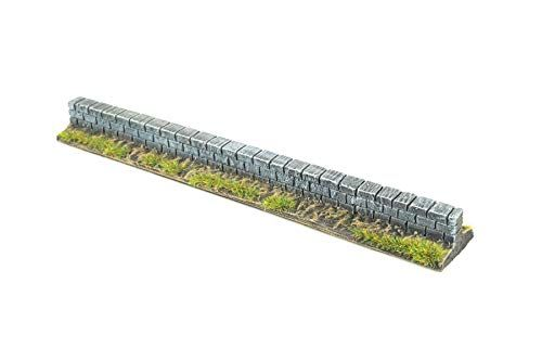 WWG Garden Wall Painted / Unpainted - 28mm Wargaming Terrain - Choose The Pack Size #wargamingterrain