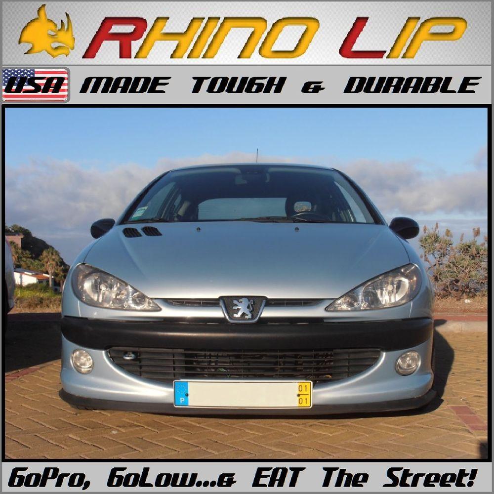 Rhino Lip Low Bumper Guard Chin Lip Splitter Spoiler For Honda