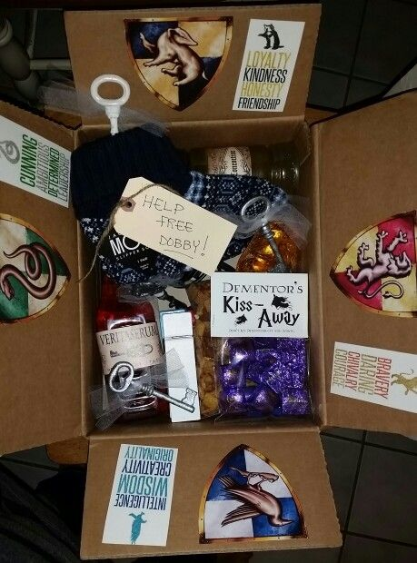Harry Potter College Care Package In 2019 Harry Potter