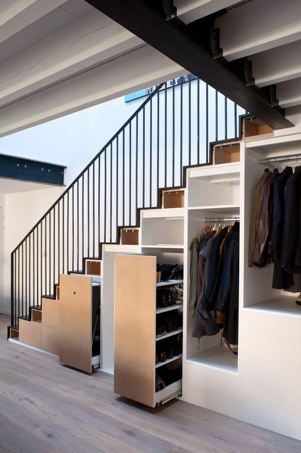 longère moderne : 210 m2 à montreuil | déco - escaliers | pinterest