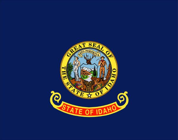 Idaho State Flag Image State Flag Click On Flag To View Larger