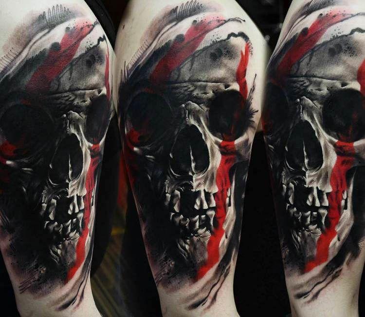 29+ Tete de mort tatouage trends