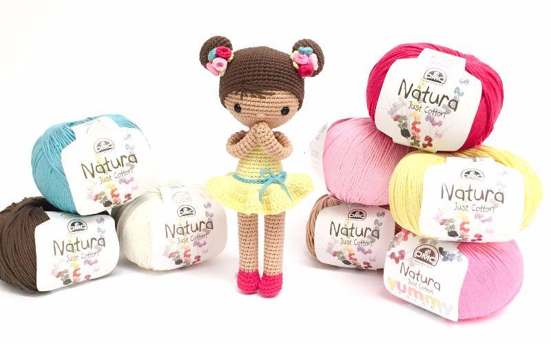 Te regalamos el patrón de ganchillo de la muñeca Chloe, diseñada en ...