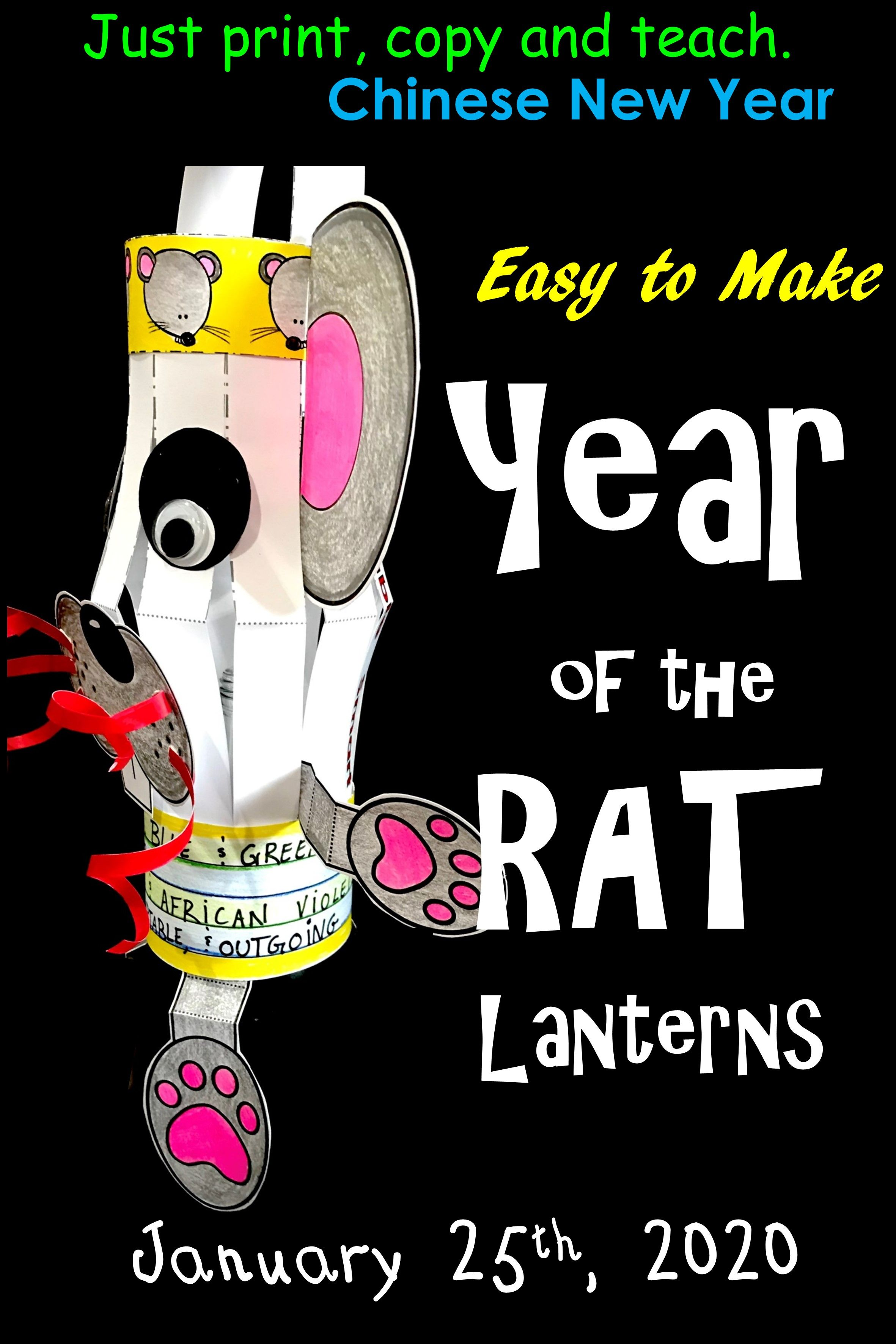 Chinese New Year Year Of The Rat Chinese Rat
