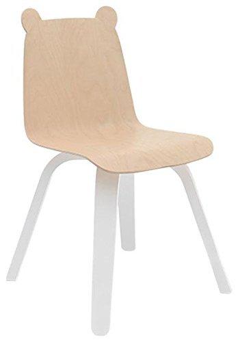 Best Amazon Com Oeuf Set Of 2 Play Chairs Bear Birch Baby 400 x 300