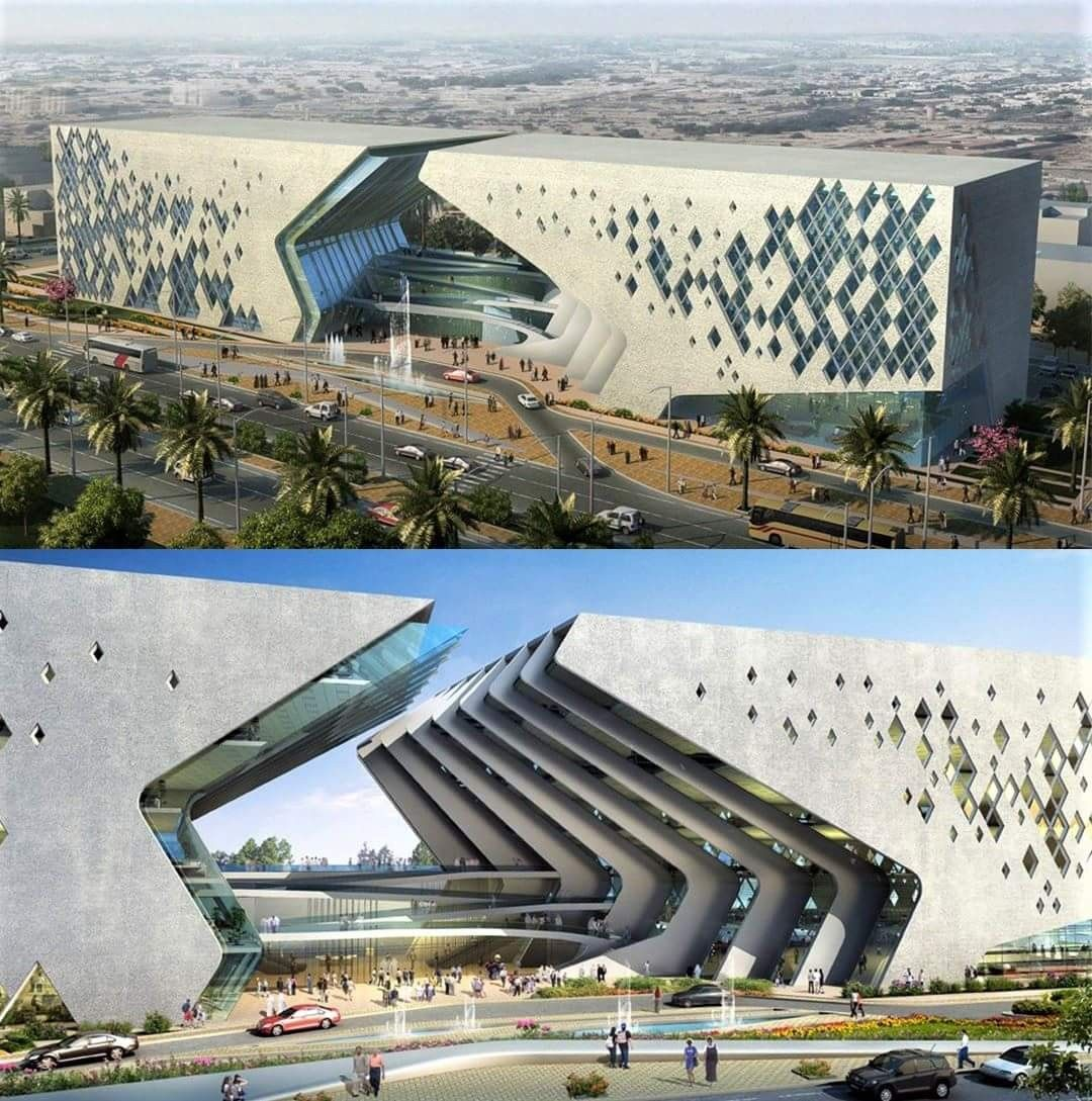 Suggested design by Dewan Architects & Engineers for the