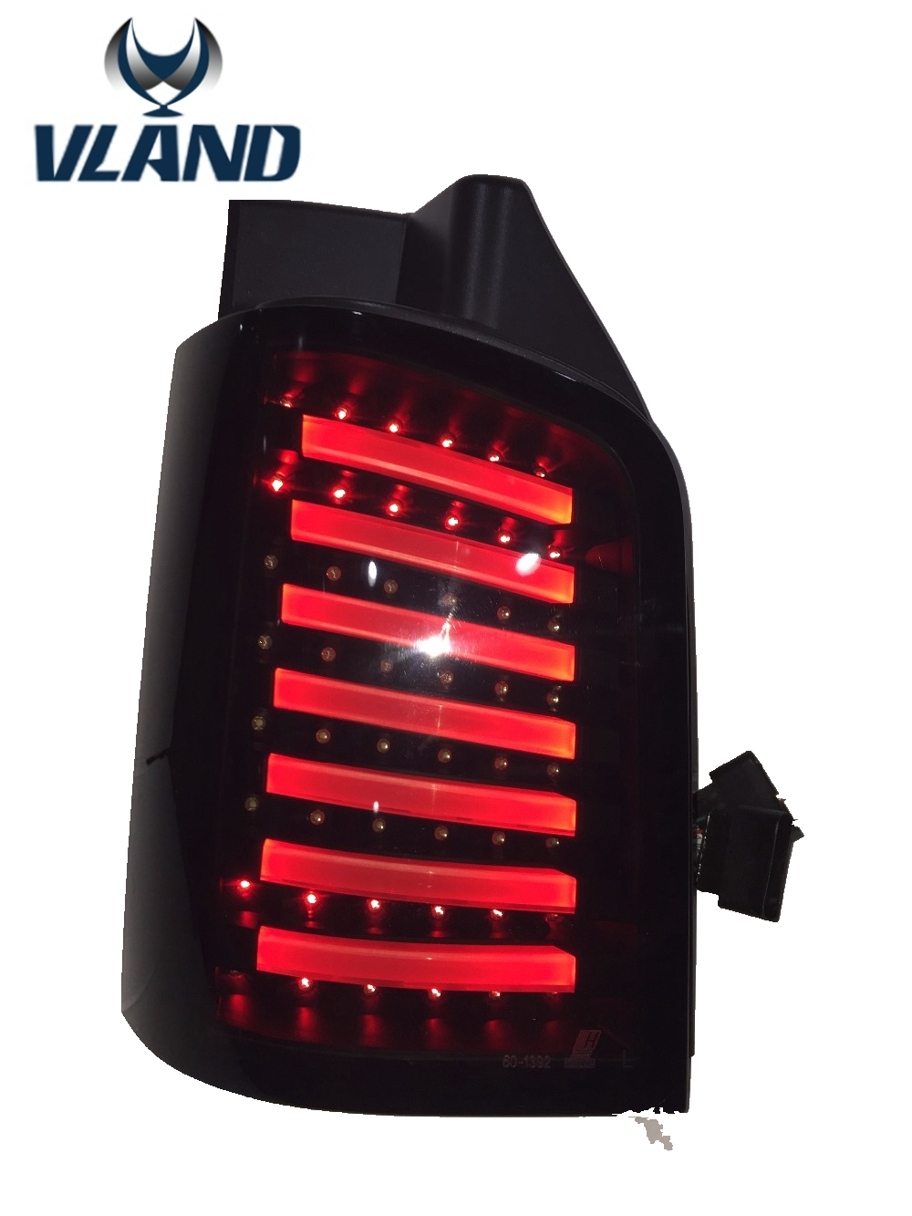 508.00$  Buy here - http://aiz4s.worlditems.win/all/product.php?id=32760960444 - Free shipping for taillLamp for VW Multivan T5 Tail Lights Rear Light DRL+Turn Signal+Brake+Reverse LED rearlamp