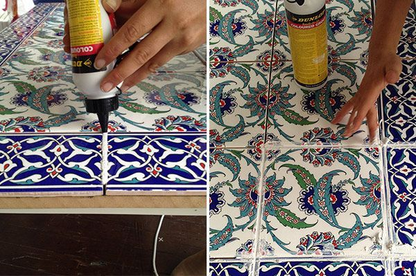 tile your own table  with stylist emmaly stewart  temple