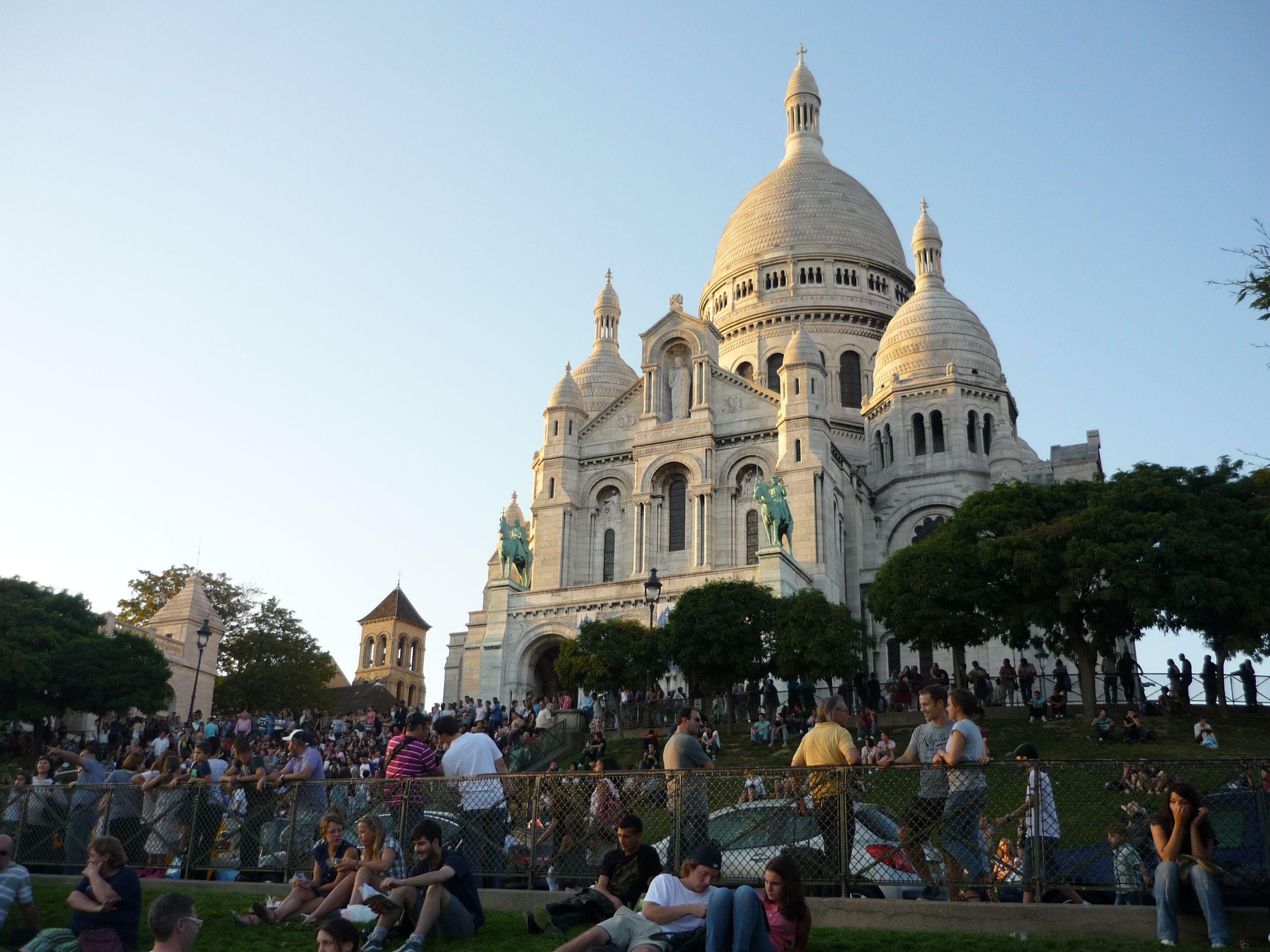 Sacre Coeur. Paris.