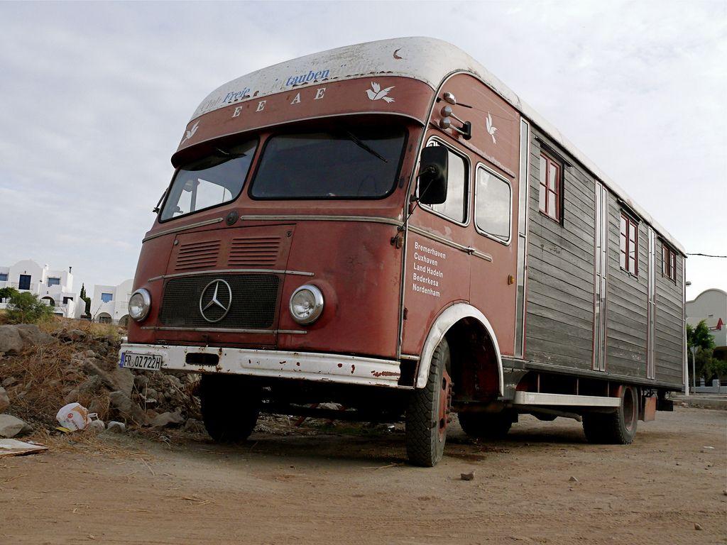 Tiny Trucks Viejo Camia3n Mercedes Benz Old Mercedes Benz Truck Mercedes Benz