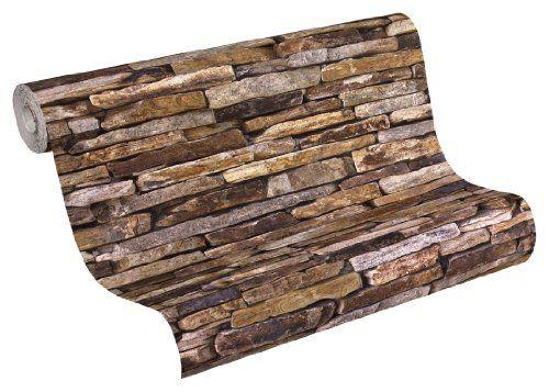 Wallpaper That Looks Like Stone | ... Wood n Stone 914217 Patterned  Wallpaper Wood