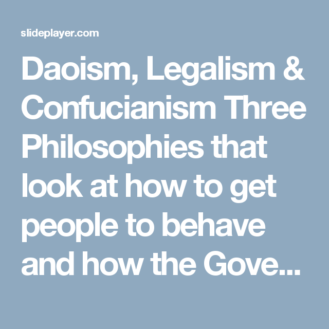 confucianism vs daoism taoism compare and contrast confuci Confucianism is considered a rationalization of these two extremes in the ancient chinese society ie legalism and taoism (cheung, 2006) confucianism neither believed in the idea of harsh punishments, impersonal laws and inhuman rules toward the mass nor it gave approval to absolute individual freedom of thought and action as it would lead to.