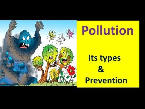 What is Pollution & its Types and Prevention (EVS Lesson for Kids ...