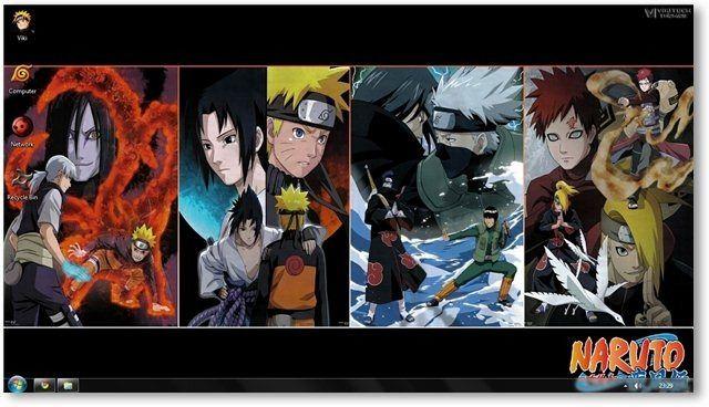 Naruto Shippuden Theme For Windows 7 And Windows 8