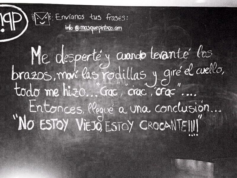Frase Vejez Y Juventud Art Quotes Chalkboard Quote Art Quotes