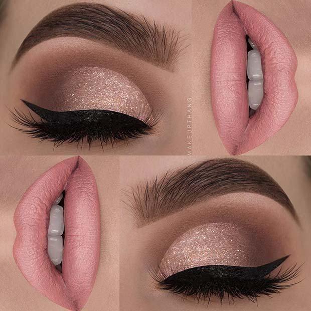 23 Stunning Prom Makeup Ideas To Enhance Your Beauty In 2020 Eye Makeup Glam Makeup Pink Makeup