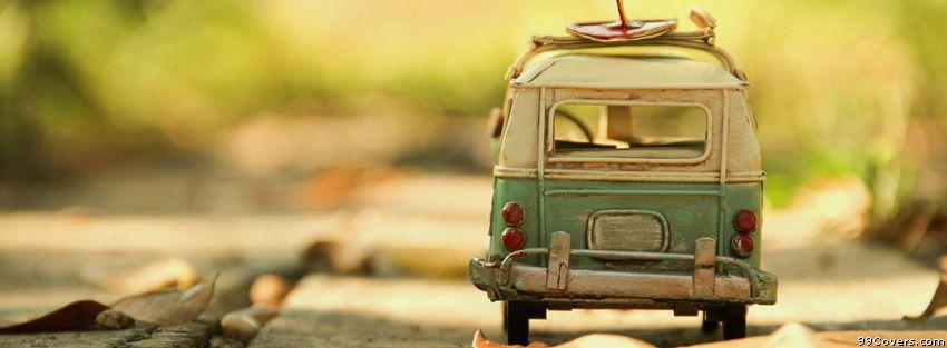 Vintage Car Volkswagen Facebook Cover
