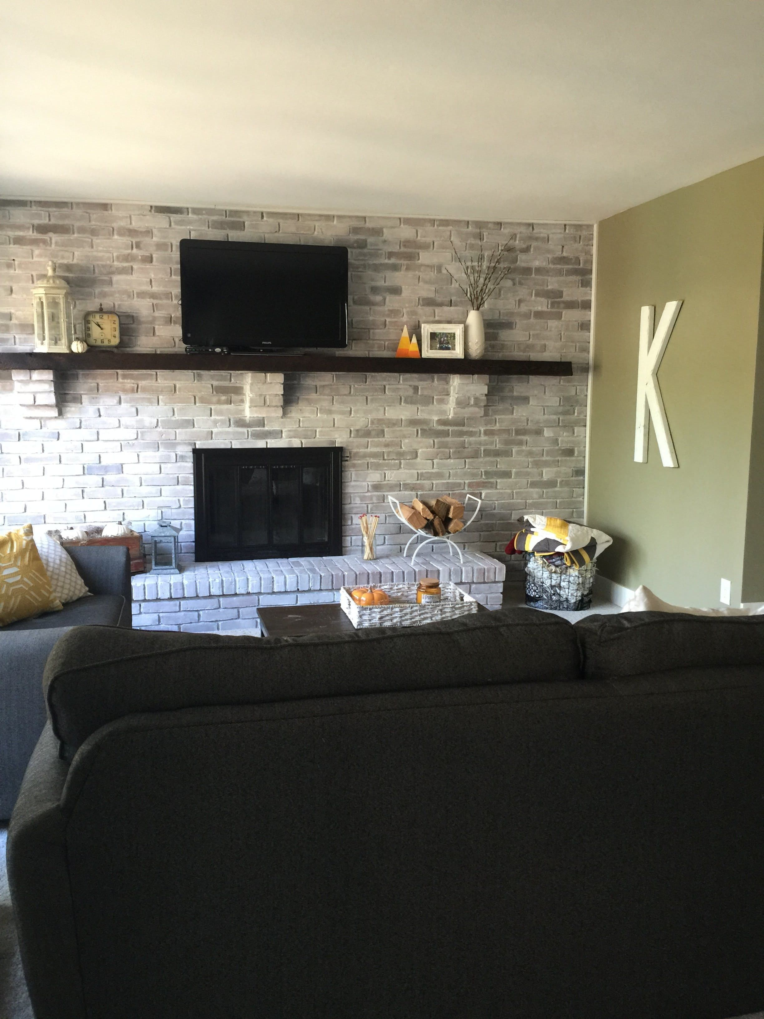 Before After Amanda S Cozy Cohesive Living Room Living Room