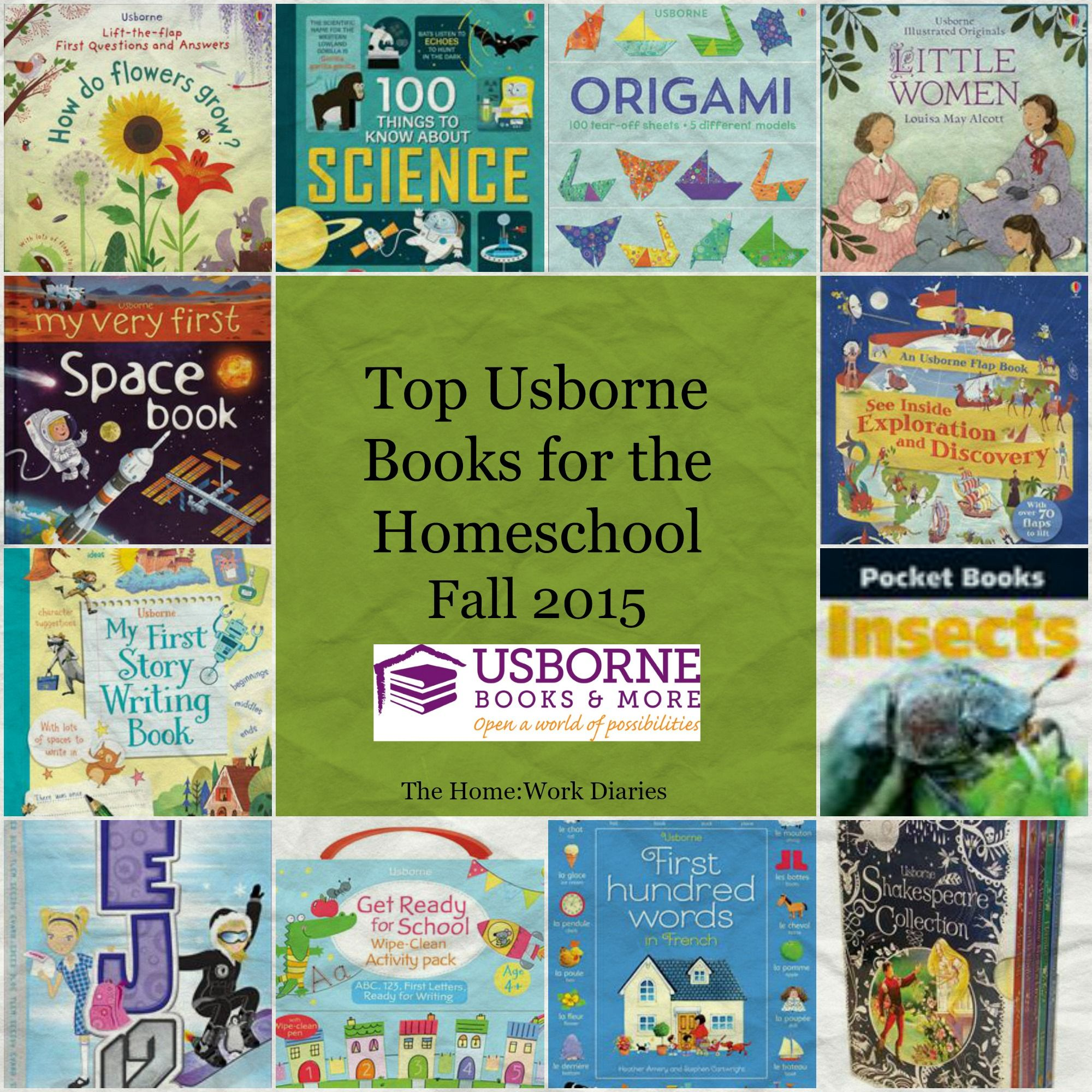 Top Usborne Books for the HomeschoolFall 2015 The Home