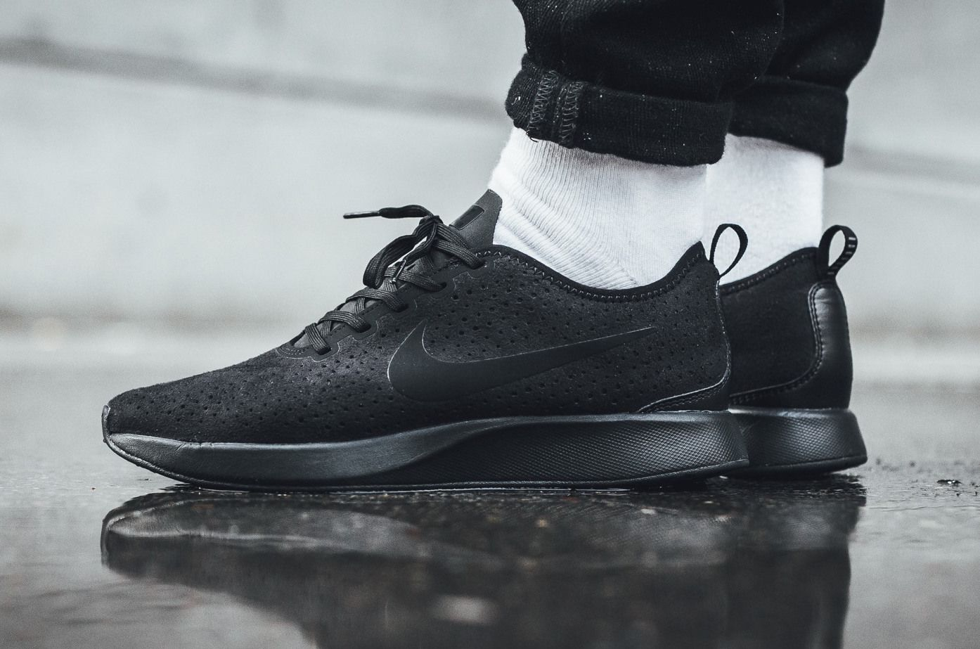 Look Out For The Nike Dualtone Racer Premium Triple Black