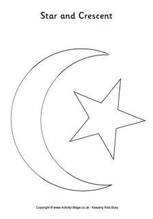 Eid Colouring Pages Star Coloring Pages Coloring Pages Eid Cards