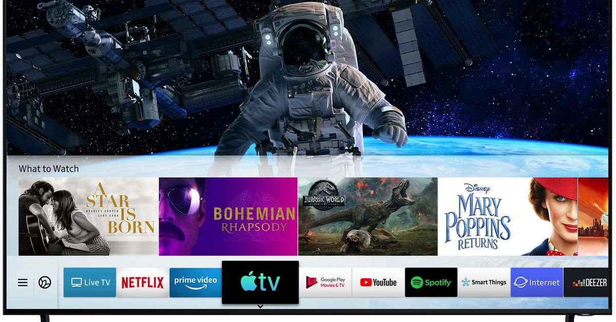 Samsung's TVs Are First to Get AirPlay 2, Apple TV App