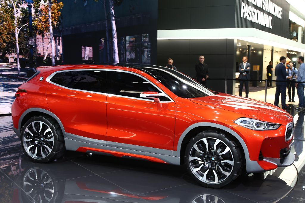 2018 Bmw X2 Suv Hybrid Sport Model Is Readying A New Crossover For To Slot In Between The X1 And X3