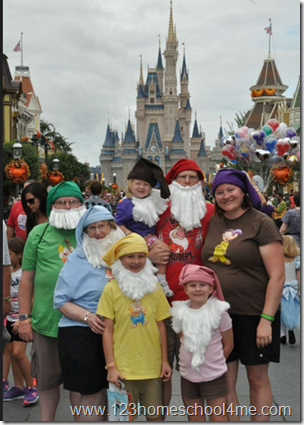 123 homeschool 4 me mickeys not so scary halloween party disney world