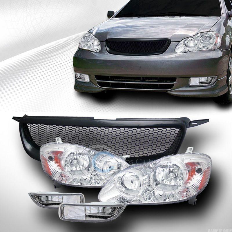 2004 toyota corolla le headlights
